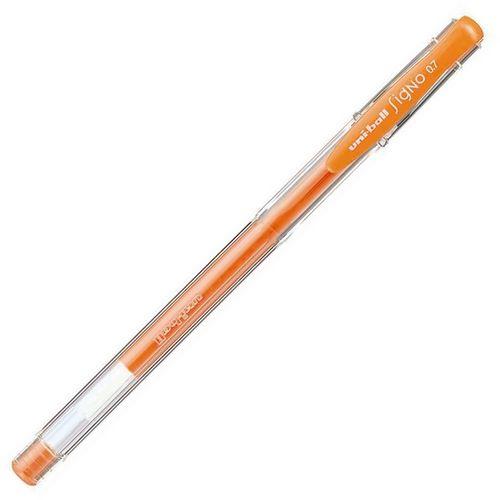 Uniball Gel Pen Signo UM-100 Fluorescent Orange 0.7
