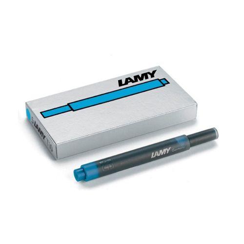 Lamy Ink Cartridge T 10 Turquoise Blue Large