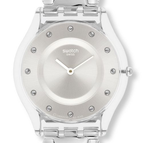 Swatch Ladies Watch Sfk371G Skin Winded Up