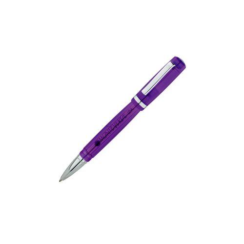 Monteverde Roller Ball Pen Artista Crystal MV26923 Purple