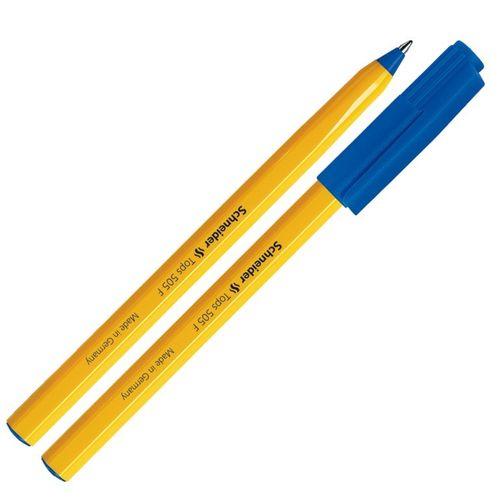 Schneider Ball Pen  Stick Top  150503 Fine Blue