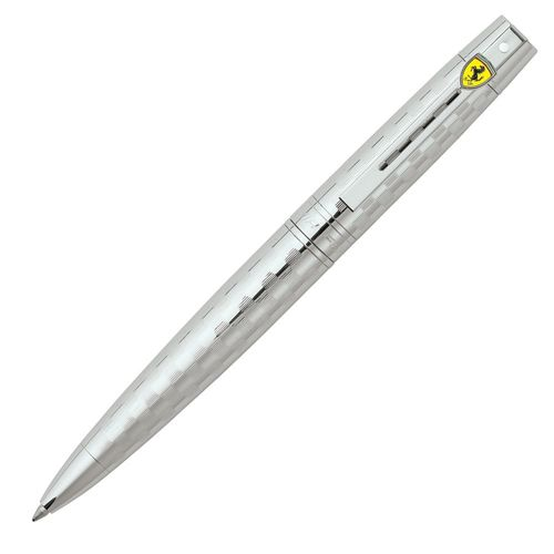 Sheaffer Ball Point Pen Ferrari 300 Series 9517 Designer Lacquer Chrome