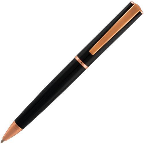 Monteverde Ball Pen Impressa MV29865 Rose Gold Trim Black