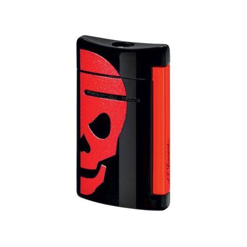S T Dupont Lighter Minijet 10062 Red Skull