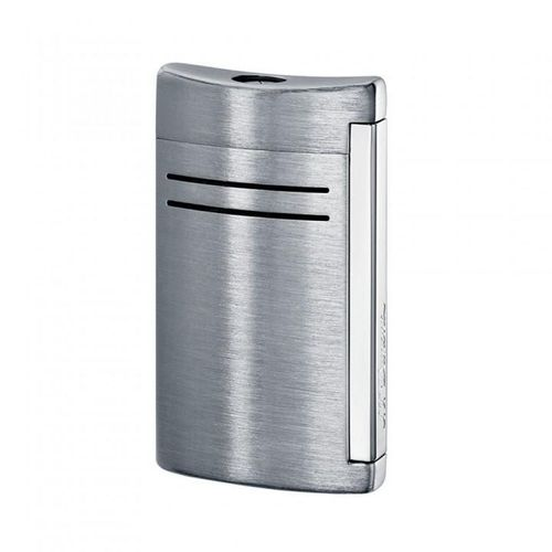 S T Dupont Lighter Maxijet 020144N Brushed Chrome