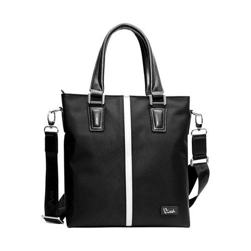 Viva Roma Laptop Bag Soft RO-1002 Black and Coffee Brown