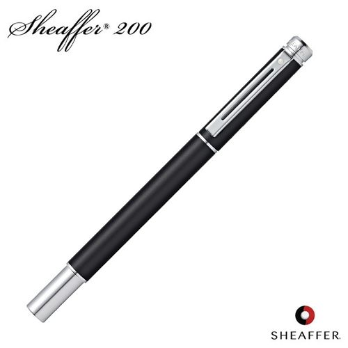 Sheaffer Roller Ball Pen 200 Series 9152 Matte Metallic Black
