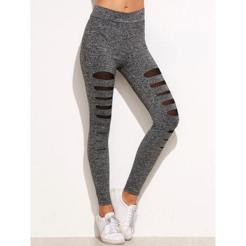 Grey Melange Leggings
