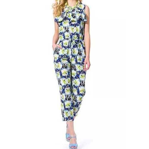 Floral Frill Jumpsuit