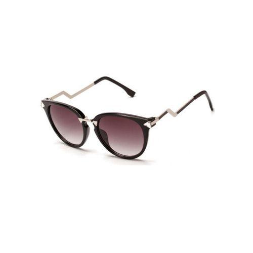 Black Zig Zag Sunglasses
