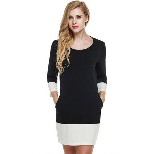 Black Shift Mini Dress