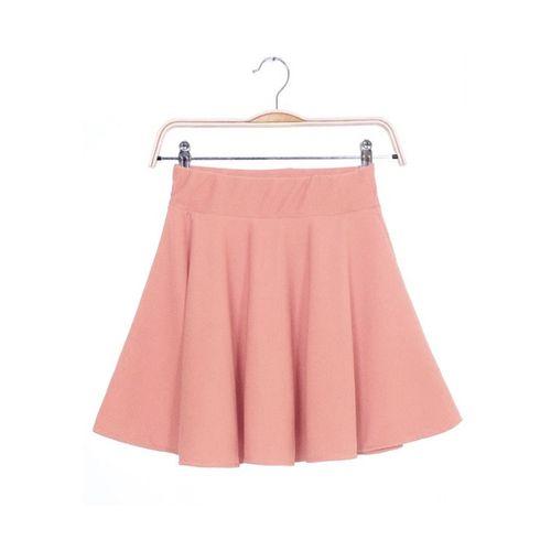 Pastel Pleated Mini Skirt