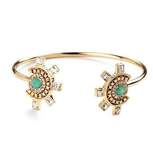 Turquoise Bead Bangle