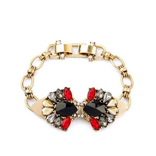 Ruby Ebony Bracelet