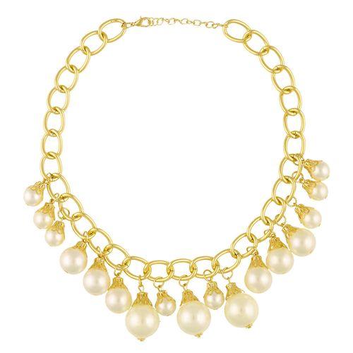 Pearly trinket neckpiece