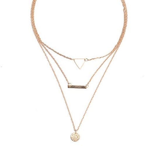 Three Layer Triangle Neckpiece
