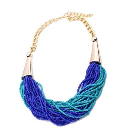 Blue Bauble Neckpiece