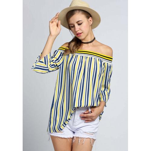 Yellow Stripe Blouse