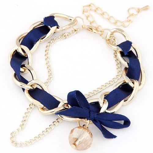 Navy Nautical Bracelet