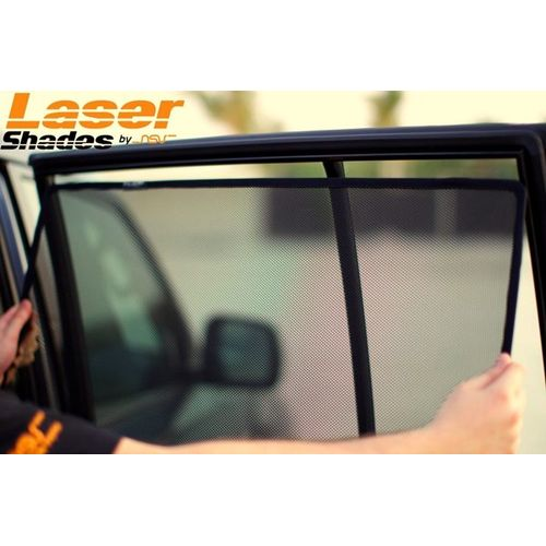 LASER Magenetic  Sun shade curtains for Skoda Rapid  set of 5 pcs