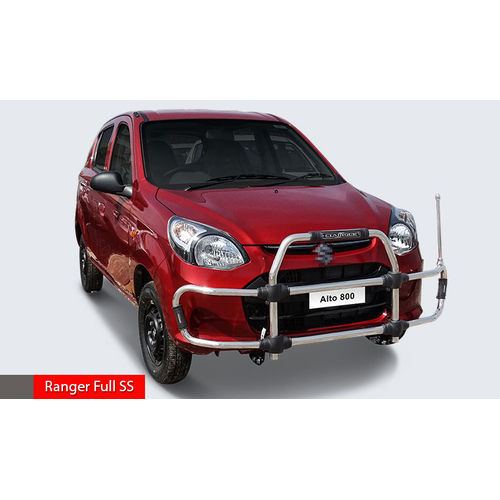 ALTO 800 Ranger Full SS  High Grade S.S Front Guard with Sturdy and Innovative Design with Judgement Rod.