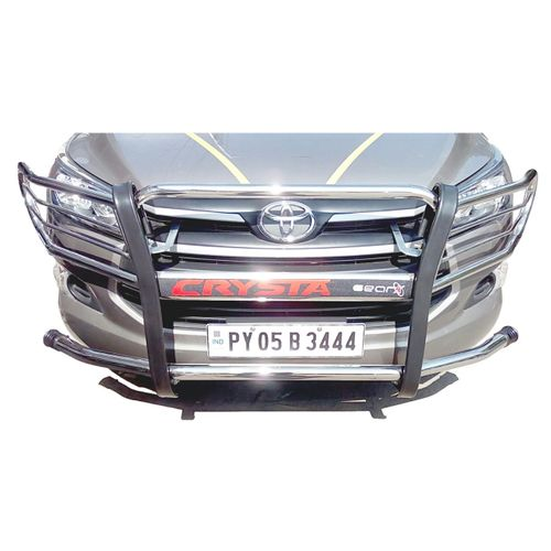GEAR X Toyota Innova Crysta front bumper crash guard Heavy duty GX400