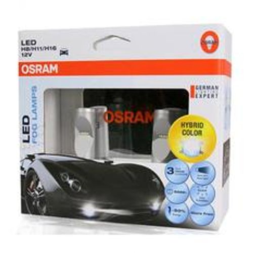 Osram LED Fog Lamp Headlight Cool White 6000K 65219CW 12V for H8