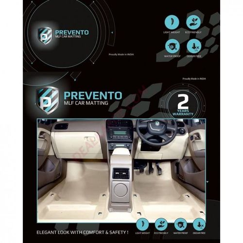 PREVENTO MLF complete 4D  floor matting for VW Ameo