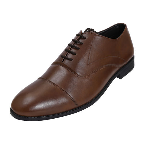 BOSTON BROWN GENTS FORMALS  SHOES_BM-314