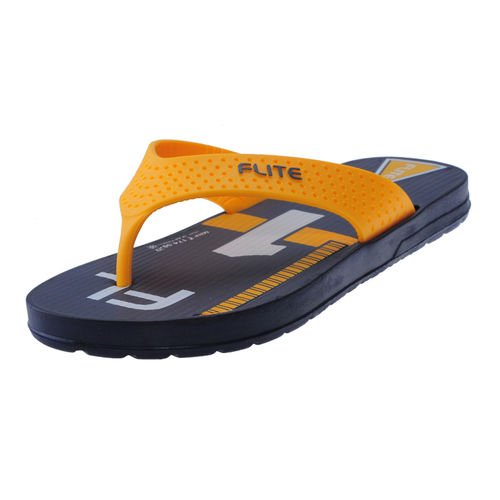 FLITE NAVY/YELLOW GENTS HOMEUSE  SLIPPERS_FL-196