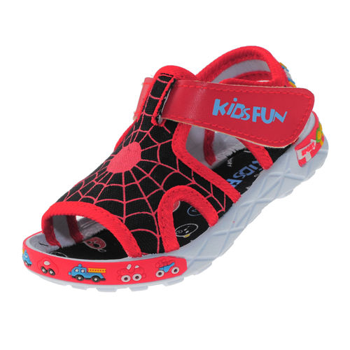 KIDSFUN RED KIDS CASUALS  SANDALS_KF227