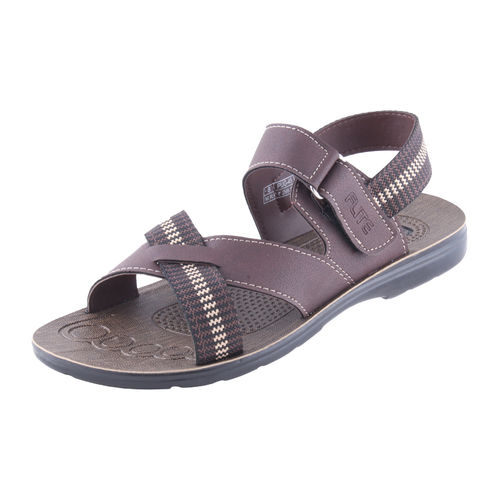 PU- FLITE BROWN/BROWN GENTS CASUALS  SANDALS_PUG-45