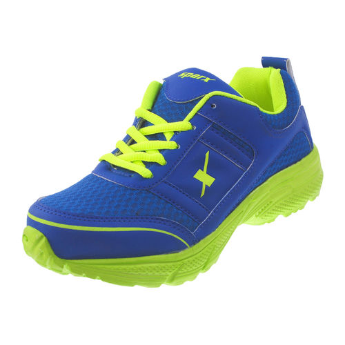 SPARX BLUE/S. GREEN KIDS SPORTS SHOES_SK-514