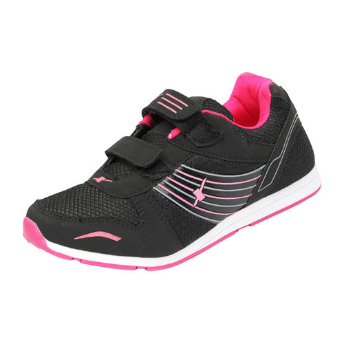 SPARX BLACK/PINK LADIES SPORTS SHOES_SL-77