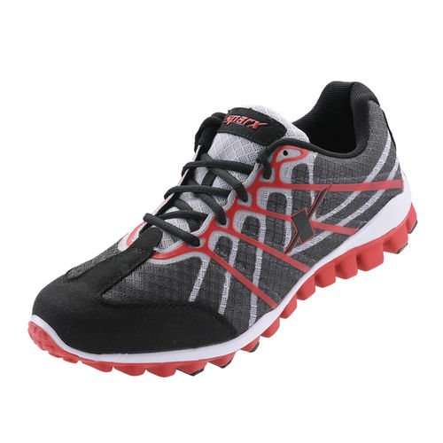 SPARX BLACK/RED GENTS SPORTS SHOES_SM-170