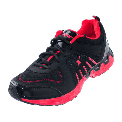 SPARX BLACK/RED GENTS SPORTS SHOES_SM-193