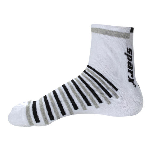 SOCKS WHITE/GREY ACCESSORIES ACCESS.  ACCESSORIE_SPORTS GENTS