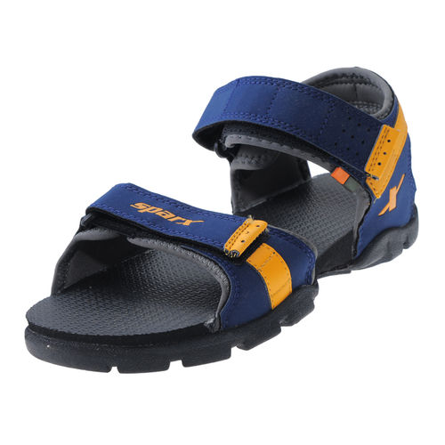 SPARX N.BLUE/YELLOW KIDS CASUALS SANDALS_SS-109