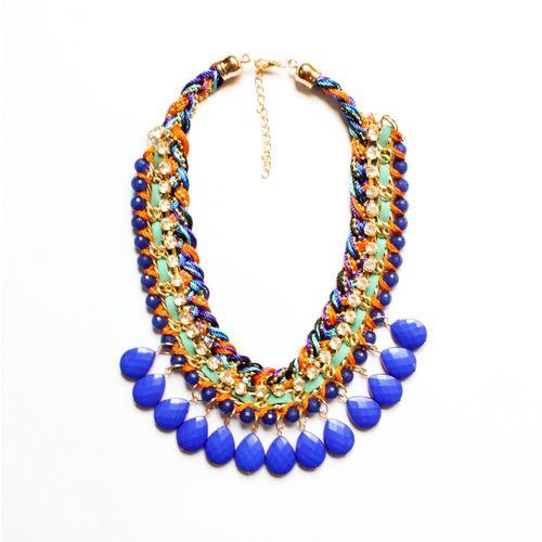 Cerulean necklace