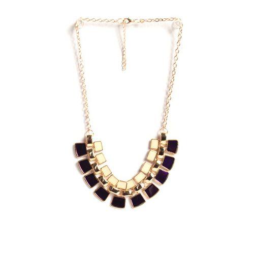 White-n-purple necklace