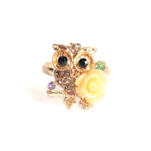 Pretty Owl ring