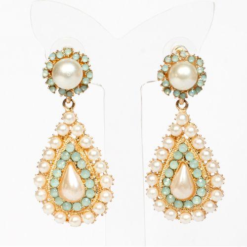 Pearl Whirl earrings