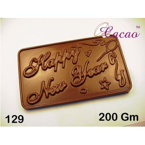 happy new year chocolate mould