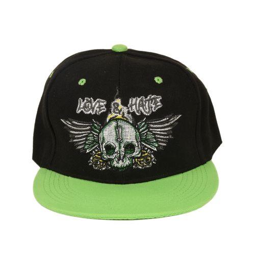 2c2d929ed59 Tiekart men black   green caps