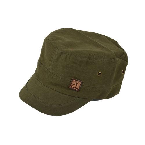 2632ca41a01 Tiekart men green plain solids winter caps