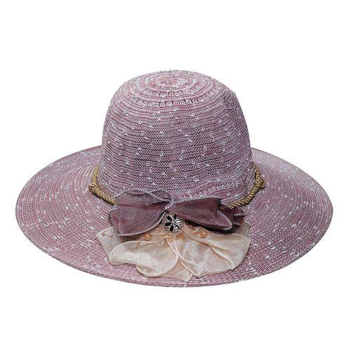 Purple Designer Summer Beach Sun Hat For Women  46ed592e043