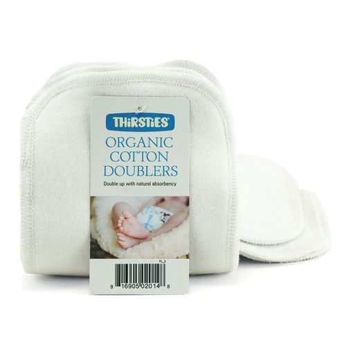 Thirsties Organic Cotton Doublers ( Pack of 3) - Small
