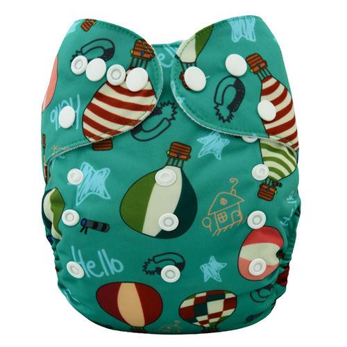 Pocket Diaper - Balloons