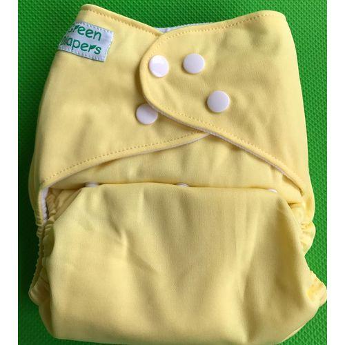 Pocket Diaper - Lemon