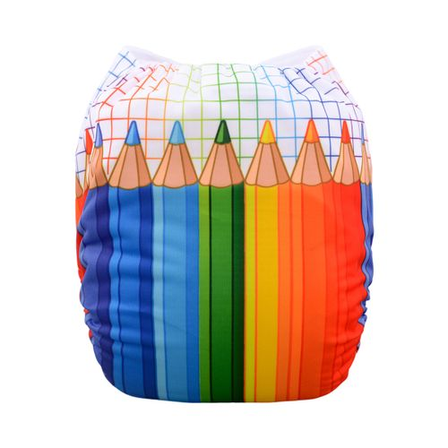 Pocket Diaper -Pencils